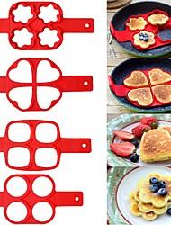 Недорогие -Инструменты для выпечки Силикон Новое поступление Для торта Для получения сыра Необычные гаджеты для кухни Круглый Квадратный Формы для пирожных 1шт