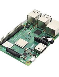 Недорогие -малиновый pi 3 модель b + (плюс) материнская плата материнская плата с bcm2837b0 cortex-a53 (armv8) 1.4гц cpu двухдиапазонный беспроводной LAN с 1 ГБ оперативной памяти