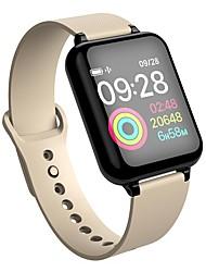 abordables -KUPENG B57B Bracelet à puce Android iOS Bluetooth Sportif Imperméable Moniteur de Fréquence Cardiaque Mesure de la pression sanguine Podomètre Rappel d'Appel Moniteur de Sommeil Rappel sédentaire