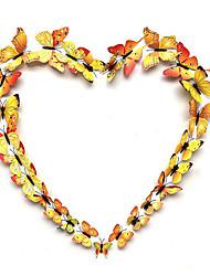 رخيصةأون -ديكور زفاف جميل PVC زينة الزفاف زفاف / مهرجان فراشةButterfly Theme / الزفاف / العائلة كل الفصول