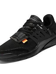 זול -בגדי ריקוד גברים נעלי נוחות Tissage וולנט אביב יום יומי נעלי אתלטיקה הליכה נושם לבן / שחור / שחור ולבן