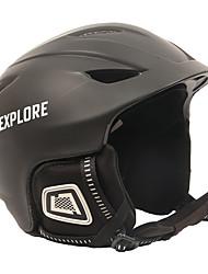 Недорогие -Лыжный шлем Муж. Жен. Разные виды спорта Сноубординг Лыжи Ударопрочный Тепловая / Теплый Снегозащитный ESP+PC CE EN 1077