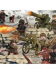 Недорогие -Конструкторы 0-38 pcs Армия Танк Оружие моделирование Танк Все Игрушки Подарок Legoingly