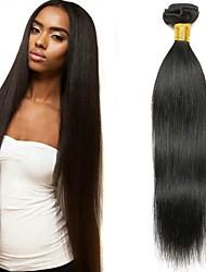 זול -6 צרורות שיער מלזי ישר שיער בתולי שיער אדםלא מעוב אביזר לשיער טווה שיער אדם הארכה 8-28 אִינְטשׁ צבע טבעי שוזרת שיער אנושי יָלוּד משיי הגעה חדשה תוספות שיער אדם בגדי ריקוד נשים