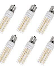 Недорогие -6шт 7.5 W 937 lm E17 LED лампы типа Корн T 100 Светодиодные бусины SMD 2835 Тёплый белый / Холодный белый 85-265 V