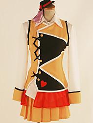 Недорогие -Вдохновлен Love Live Косплей Аниме Косплэй костюмы Японский Косплей Костюмы Английский Жилетка / Блузка / Кофты Назначение Муж. / Жен.