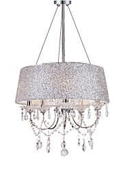 abordables -QINGMING® 5 lumières Lustre Lumière dirigée vers le haut - Cristal, 110-120V / 220-240V Ampoule non incluse / 10-15㎡ / E12 / E14