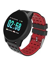Недорогие -Kimlink W1 Смарт Часы Android iOS Bluetooth Пульсомер Измерение кровяного давления Израсходовано калорий Регистрация дистанции Информация