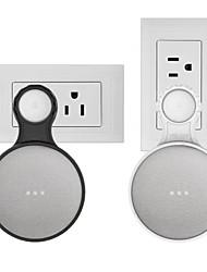 Недорогие -настенный держатель для розетки для google home mini, компактные аксессуары для голосового помощника google home mini