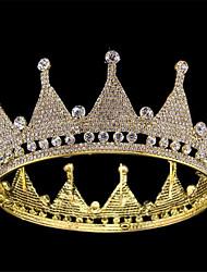 billige -Legering Tiaras med Bjergkrystal 1 Stykke Bryllup / Dagligdagstøj Medaljon