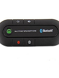 abordables -kit de voiture bluetooth mains-libres sans fil voiture v4.0 sun visor style