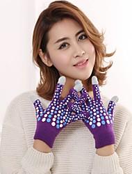 Недорогие -перчатки для женщин / мужские наручные перчатки - polka dot
