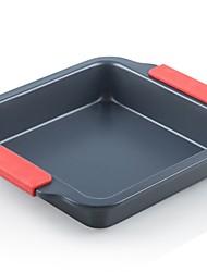 cheap -1pc Metal Multifunction Creative Kitchen Gadget Cooking Utensils Square Dessert Tools Bakeware tools