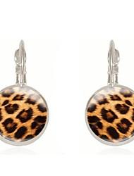 levne -Dámské Retro styl Peckové náušnice Náušnice Klasické Šperky Zlatá / Stříbrná Pro Dar 1 Pair