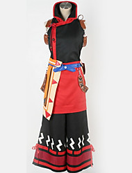 זול -קיבל השראה מ קוספליי קוספליי אנימה תחפושות קוספליי חליפות קוספליי דפוס שמלה / עוד אביזרים / תחפושות עבור בגדי ריקוד גברים / בגדי ריקוד נשים