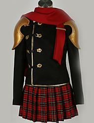 Недорогие -Вдохновлен Final Fantasy Косплей Аниме Косплэй костюмы Японский Косплей Костюмы Особый дизайн Пальто / Кофты / Юбки Назначение Муж. / Жен.
