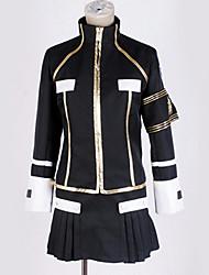 ieftine -Inspirat de Reborn! Cosplay Anime Costume Cosplay Costume Cosplay Contemporan Vârf / Fustă / Mănuși Pentru Bărbați / Pentru femei