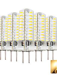 hesapli -5pcs 4 W 300-400 lm GY6.35 LED Mısır Işıklar T 80 LED Boncuklar SMD 4014 Çok güzel Sıcak Beyaz / Serin Beyaz 220-240 V
