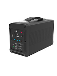 Недорогие -Блок питания для хранения энергии Portable Power Station, 230Wh/200W Camping Generator Lithium Power Supply with Dual 110V AC Outlet, 2 DC Ports, 3 USB Ports, LED Flashlights for Road Trip Camping