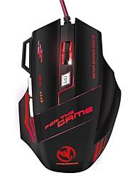 Недорогие -OEM Проводной USB Gaming Mouse / Управление мышью S300 7 pcs ключи LED подсветка 5 Регулируемые уровни DPI 7 программируемых клавиш 5500 dpi