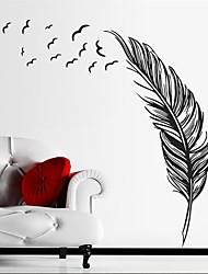 abordables -Autocollants muraux décoratifs - Autocollants avion Nature morte Intérieur