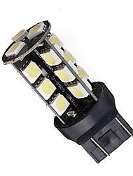 Недорогие -1 шт. T20 (7440,7443) Автомобиль Лампы 2.7 W SMD 5050 12 lm 27 Светодиодная лампа Лампа поворотного сигнала / Задний свет Назначение Универсальный Все года