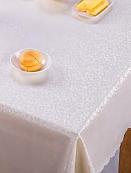 baratos -Moderna Courino Quadrada Toalhas de mesa Estampado Decorações de mesa