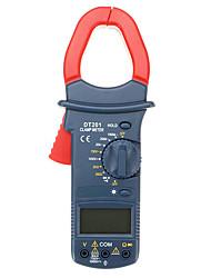 Недорогие -Dt201 цифровой ручной бесконтактный мультиметр зажим метр 1000 В напряжение тока тестер сопротивления