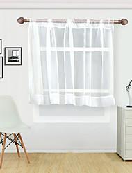 Недорогие -Modern Semi-Sheer 1 панель Лечение окно Кабинет / Офис   Curtains