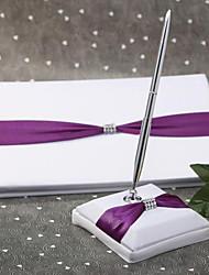 Недорогие -Книги пожеланий / Ручки Свадьба С Вышивка Гостевая книга / Набор ручек