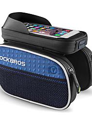 Недорогие -ROCKBROS Сотовый телефон сумка / Бардачок на раму 6 дюймовый Водонепроницаемость Велоспорт для iPhone 8 Plus / 7 Plus / 6S Plus / 6 Plus Зеленый