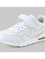 baratos -Para Meninos / Para Meninas Sapatos Couro Sintético Primavera & Outono Conforto Tênis para Infantil Branco