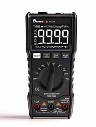 Недорогие -Mustool MT109 портативный 9999 рассчитывает истинный среднеквадратичный RMS мультиметр AC DC напряжение тока NCV температура тестер автоматический диапазон