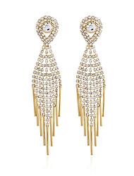 economico -Per donna Classico Orecchini a goccia - Diamanti d'imitazione Pendente Gioielli Oro / Argento Per Matrimonio Feste Evento / 1 paio