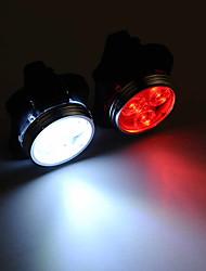 Недорогие -Светодиодная лампа Велосипедные фары Задняя подсветка на велосипед огни безопасности задние фонари Горные велосипеды Велоспорт Водонепроницаемый Портативные Регулируется Литий-полимерная 200 lm