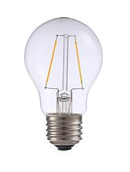 abordables -GMY® 1pc 2 W 200 lm E26 / E27 Ampoules à Filament LED A17 2 Perles LED COB Décorative Blanc Chaud 120 V