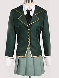 Недорогие -Вдохновлен Хаганаи Косплей Аниме Косплэй костюмы Японский Косплей Костюмы Английский Пальто / Блузка / Кофты Назначение Муж. / Жен.