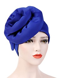Недорогие -Жен. Винтаж / Для вечеринки / Праздник Широкополая шляпа Однотонный