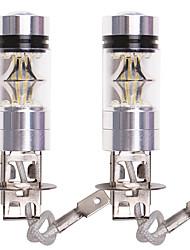 Недорогие -OTOLAMPARA 2pcs BA15S (1156) / P21W / P21/5W Автомобиль Лампы 100 W SMD 335 2200 lm 20 Светодиодная лампа Противотуманные фары Назначение Volkswagen / Honda Fit / Touareg 2019