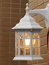 Недорогие -Cool Ретро Настенные светильники Сад Металл настенный светильник 200-240 Вольт