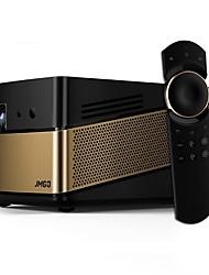 Недорогие -JmGO V8 DLP Проектор для домашних кинотеатров Светодиодная лампа Проектор 1200 lm Поддержка 4K 60-120 дюймовый Экран / 1080P (1920x1080)