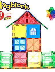 Недорогие -Магнитные плитки 48 pcs Геометрический узор Все Игрушки Подарок