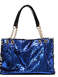 cheap -Women's Bags PU(Polyurethane) Tote Glitter Green / Black / Fuchsia