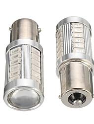Недорогие -пара янтарь 1056 py21w bau15s автомобиль светодиодный тормозной сигнал поворота