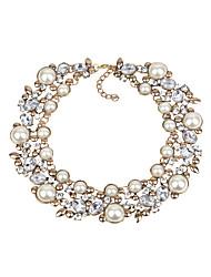 Недорогие -европейское / модное / негабаритное ожерелье из сплава