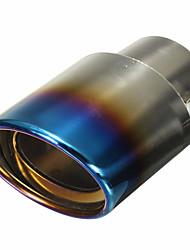 Недорогие -1 шт. 5.9 mm Советы по выхлопной трубе Cool Нержавеющая сталь Глушители выхлопа Назначение Универсальный Дженерал Моторс Все года