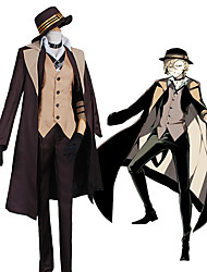 cheap Toys & Hobbies-Inspired by Bungo Stray Dogs Cosplay Anime Cosplay Costumes Cosplay Suits Contemporary Coat / Vest / Blouse For Men's / Women's