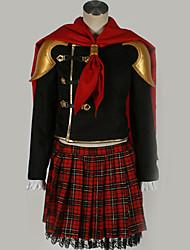 Недорогие -Вдохновлен Final Fantasy Косплей Аниме Косплэй костюмы Японский Косплей Костюмы Особый дизайн Косыночная повязка / Пальто / Кофты Назначение Муж. / Жен.