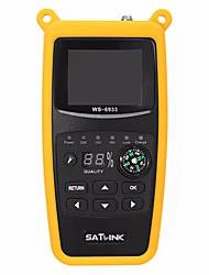 Недорогие -Satlink WS-6933 DVB-S2 FTA цифровой спутниковый искатель метр ЖК-фонарик