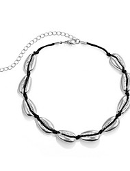 cheap -Women's European / Fashion necklace - Solid Colored